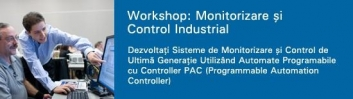 National Instruments Workshop: Monitorizare si Control Industrial